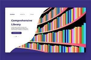 Library Banner & Landing Page