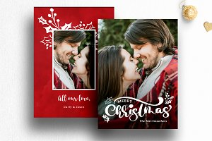 Christmas Card Template | 013