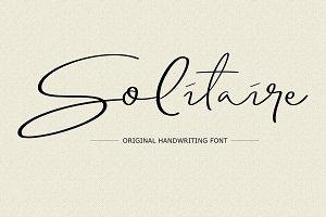 Solitaire Font