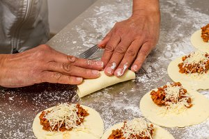 Cooking meat pies (11)