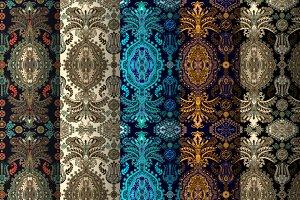 5 Ethnic Ornamental Patterns