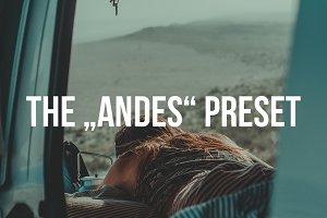 """""""ANDES"""" Lightroom Preset"""