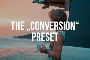 """CONVERSION"" Lightroom Preset"