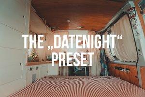 """DATENIGHT"" Lightroom Preset"