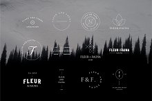 50 Modern Delicate Logos Brand Kit by  in Logos