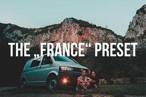 """""""FRANCE"""" Lightroom Preset"""