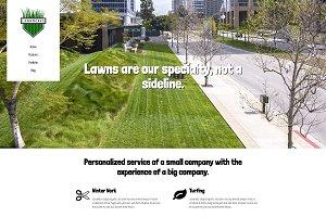 Lawnworks - Lawn Care WP Theme