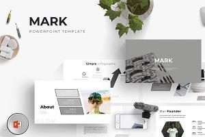 Mark - Powerpoint Template
