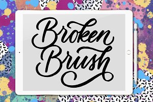 Broken Brush - Procreate Brush
