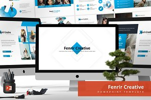 Fenrir Powerpoint Template
