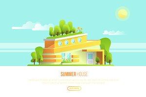 Summer House - Vector Building