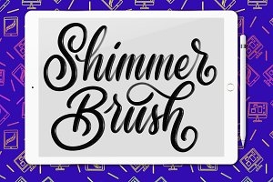 Shimmer Procreate brush