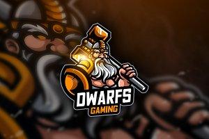 Dwarf Gaming- Mascot & Esport Logo