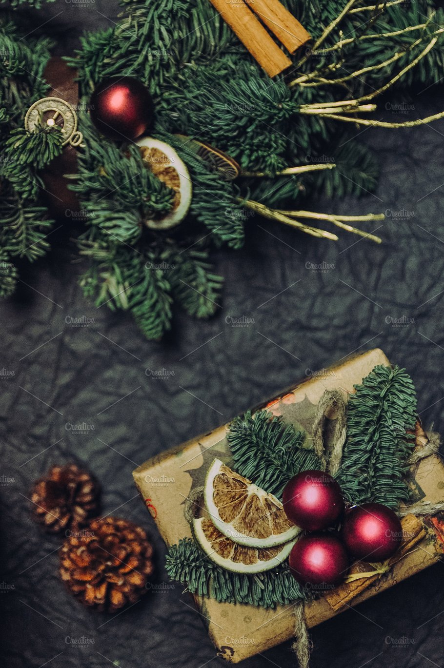 a daydream about christmas holiday photos creative market