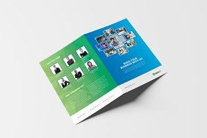 Creative Corporate Bi-Fold Brochure