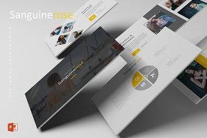 Sanguinerose - Powerpoint Template