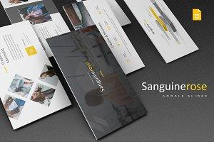 Sanguinerose - Google Slides Templat