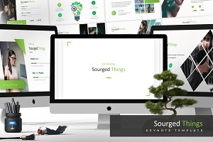 Sourged - Keynote Template