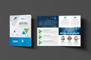 Creative Corporate Bi-Fold Brochure