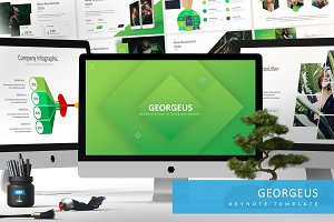 Georgeus - Keynote Template