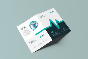 Medical Healthcare Bi-Fold Brochure
