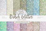 Pastel glitter Bokeh Digital Papers