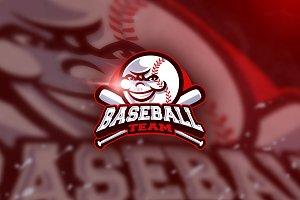Baseball Team - Mascot & Esport Logo
