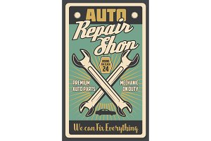 Car repair shop and auto spare rarts