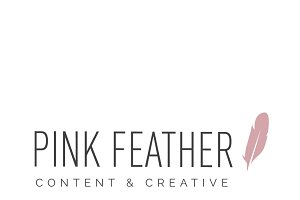Pink Feather Logo
