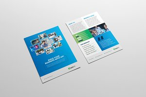 Business Flyer, Leaflet, Advert