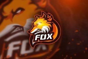 Fox 2 - mascot logo