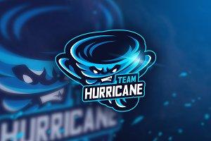 Hurricane Team - Mascot &Esport Logo