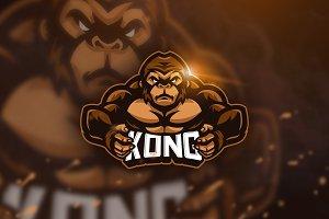 Kong - Mascot & Esport Logo