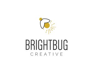 BrightBug Logo Design
