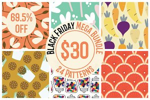 Black Friday Mega Pattern Bundle