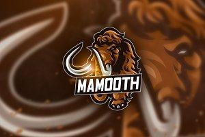 Mamooth - Mascot & Esport Logo