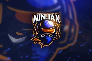 Ninja Game - Mascot & Esport Logo
