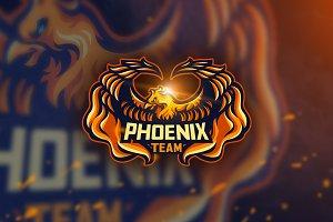 Phoenix Team -Mascot & Esport Logo
