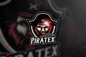 Piratex - Mascot & Esport Logo