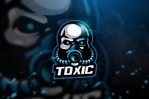 Toxic blue - Mascot & Esport Logo