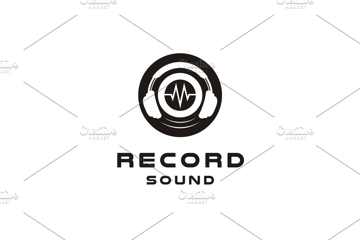Headphone / DJ / Recording logo