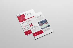 Attorney Law Firm Business Flyer