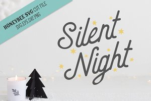 Silent Night SVG Cut File