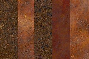 Metal rust textures
