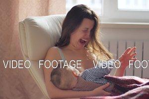 motherhood breast feeding FAIL, baby