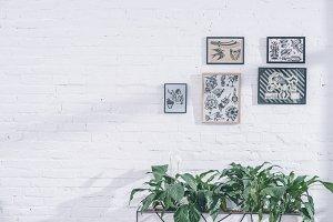 Tattoo designs in frames in modern s