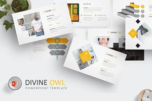 Divine Owl - Powerpoint Template