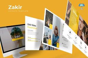Zakir - Keynote Template