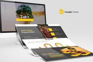 Zakir - Google Slides Template