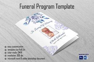 Funeral Program Template V01